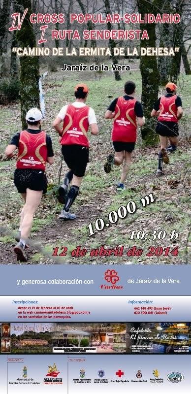 CROSS CAMINO ERMITA DE LA DEHESA 2014