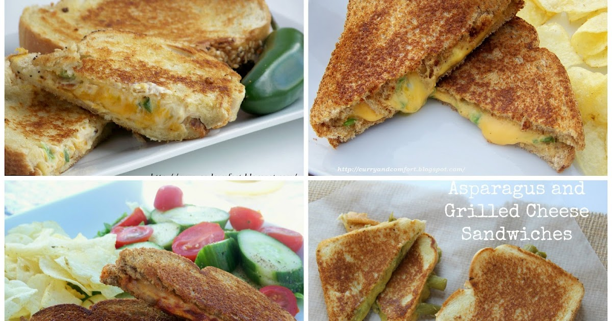 ... Happy Grilled Cheese Month, introducing the Asparagus Grilled Cheese