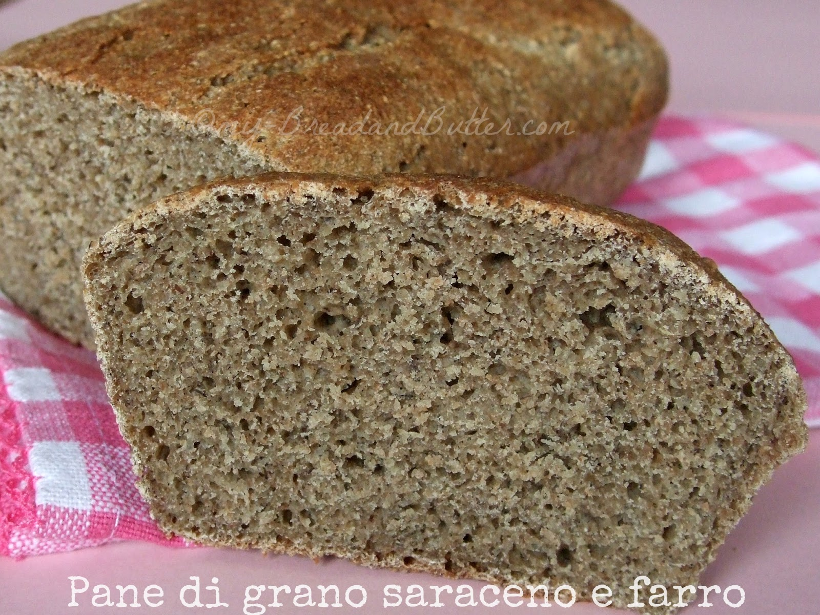 Organic Buckwheat and Spelt bread Buckwheat Bread Recipes
