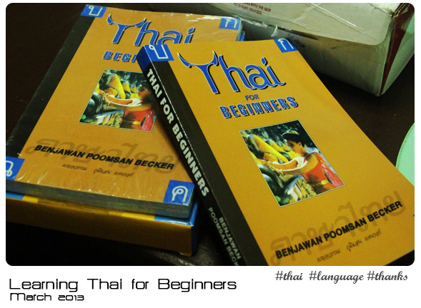 Learning Thai for Beginners Book