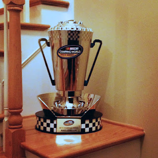 NASCAR Trophy - Matt Crafton  clinched his first Truck Series championship!