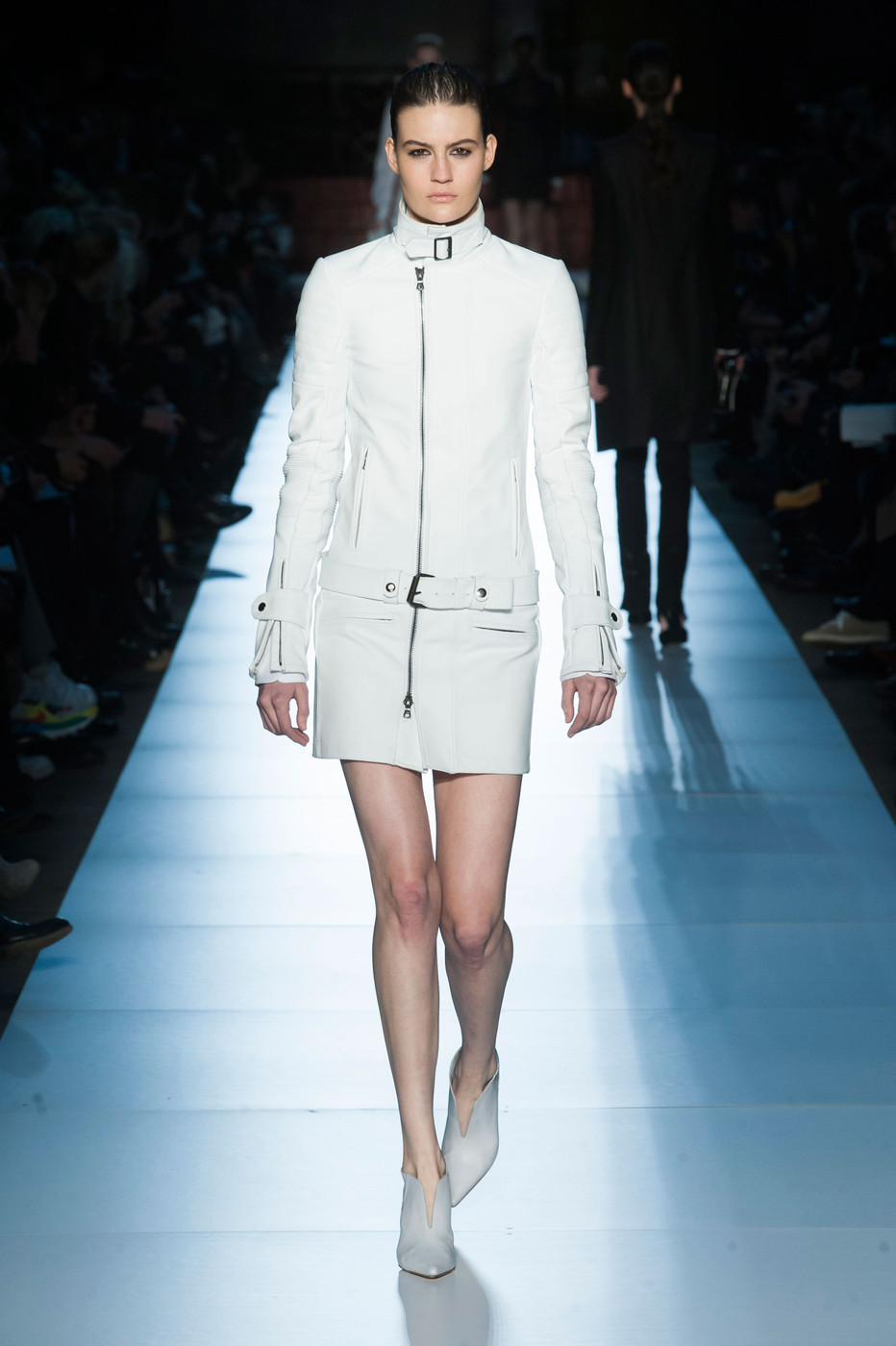 Diesel Black Gold all white leather dress, Fall/Winter 2013-2014 RTW collection