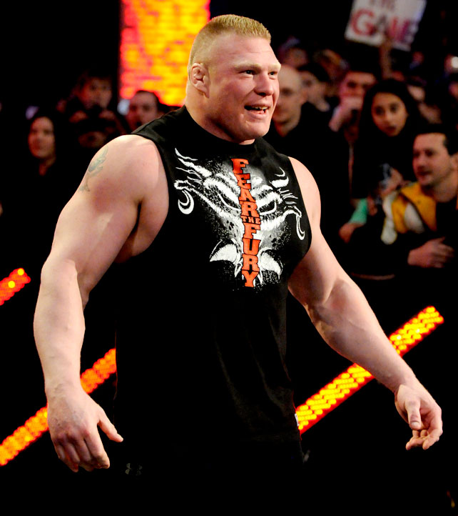 Ryback Bench Press: I LOVE WWE: BROCK LESNER & PAUL HEYMAN