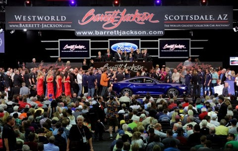 2015 Mustang Sells for $300,000 at Barrett-Jackson Auction