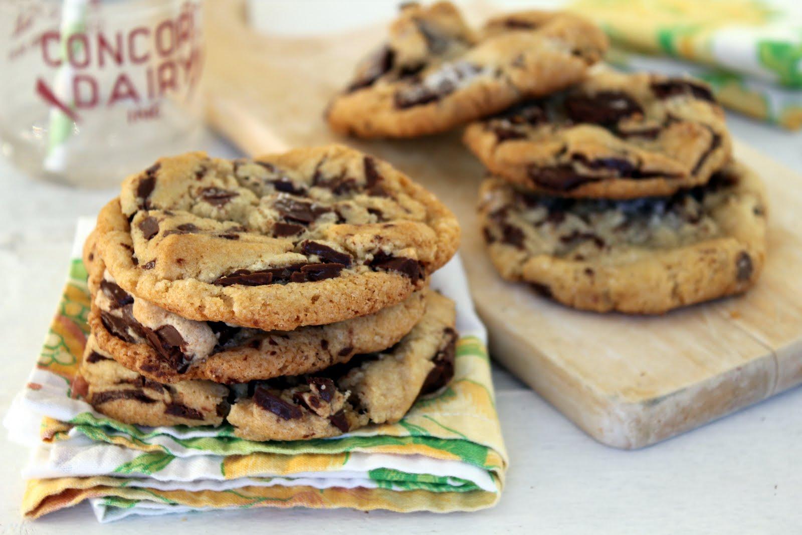 Cherry Tea Cakes: Chocolate Chip Cookies