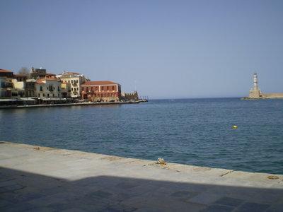 На море на Крит