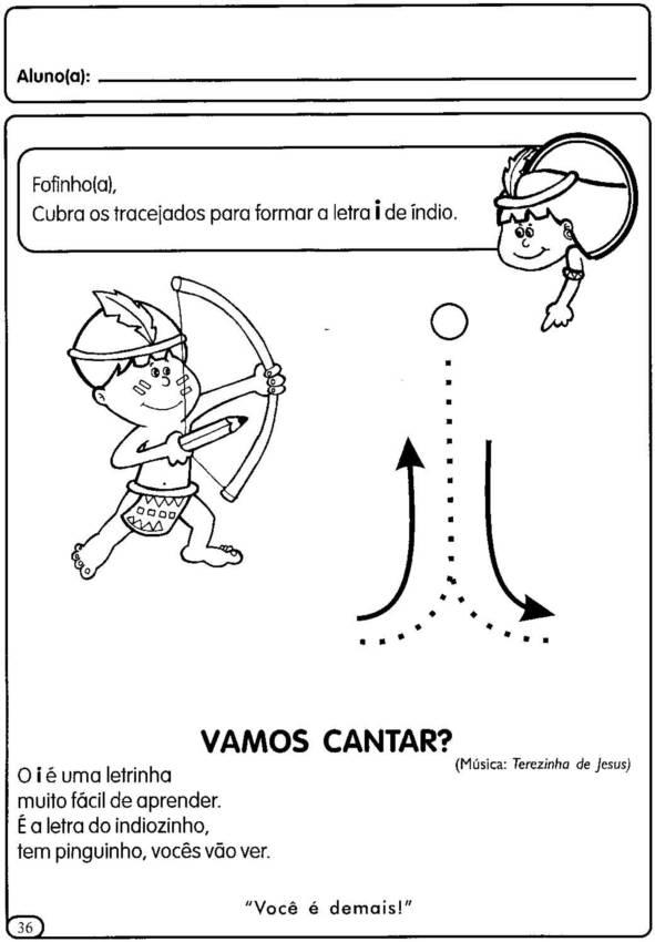 Atividades Educa    O Infantil   Vogais