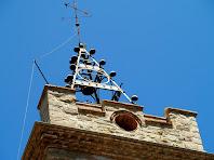 Campanar de l'església Vella de Santa Maria d'Oló