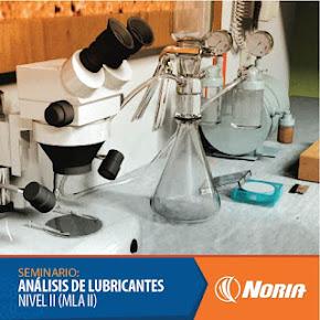 Curso Abierto para certificación: Analista de lubricantes de maquinaria nivel II (MLA-II)
