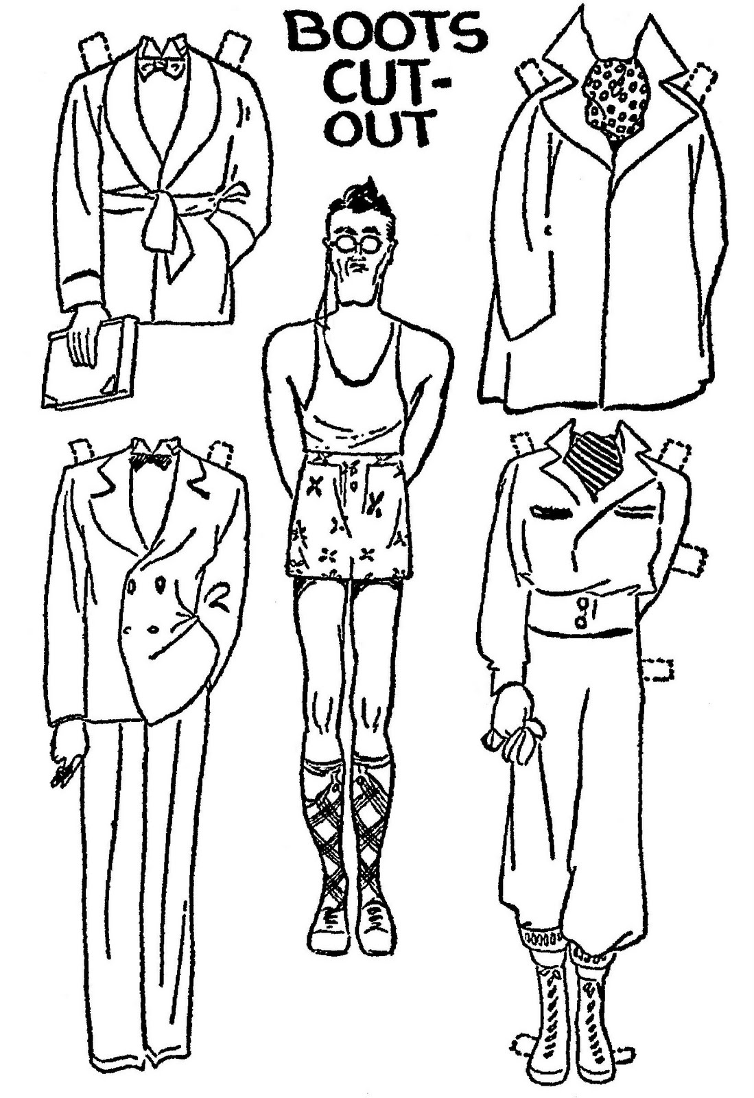 mostly paper dolls  january 2012