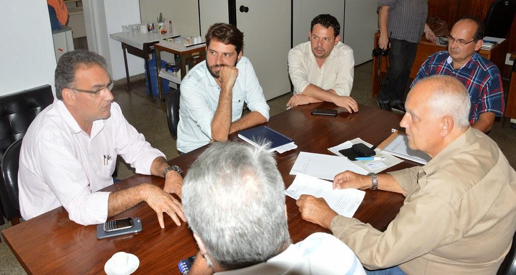 crédito Jeferson Hermida: Representantes da Prefeitura e do Estado definem detalhes técnicos da construção das novas pontes do Madruga e do Cruzeiro