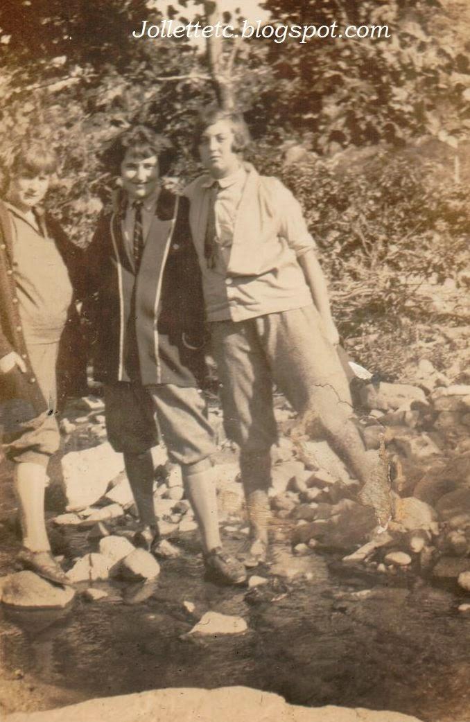 Thelma Hockman, Velma, Virginia Cole