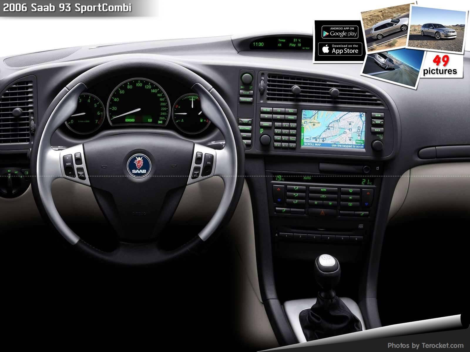 Hình ảnh xe ô tô Saab 93 SportCombi 2006 & nội ngoại thất