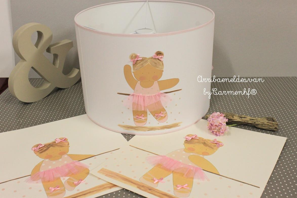 18 septiembre pantallas para l mparas infantiles - Lamparas de techo para ninas ...
