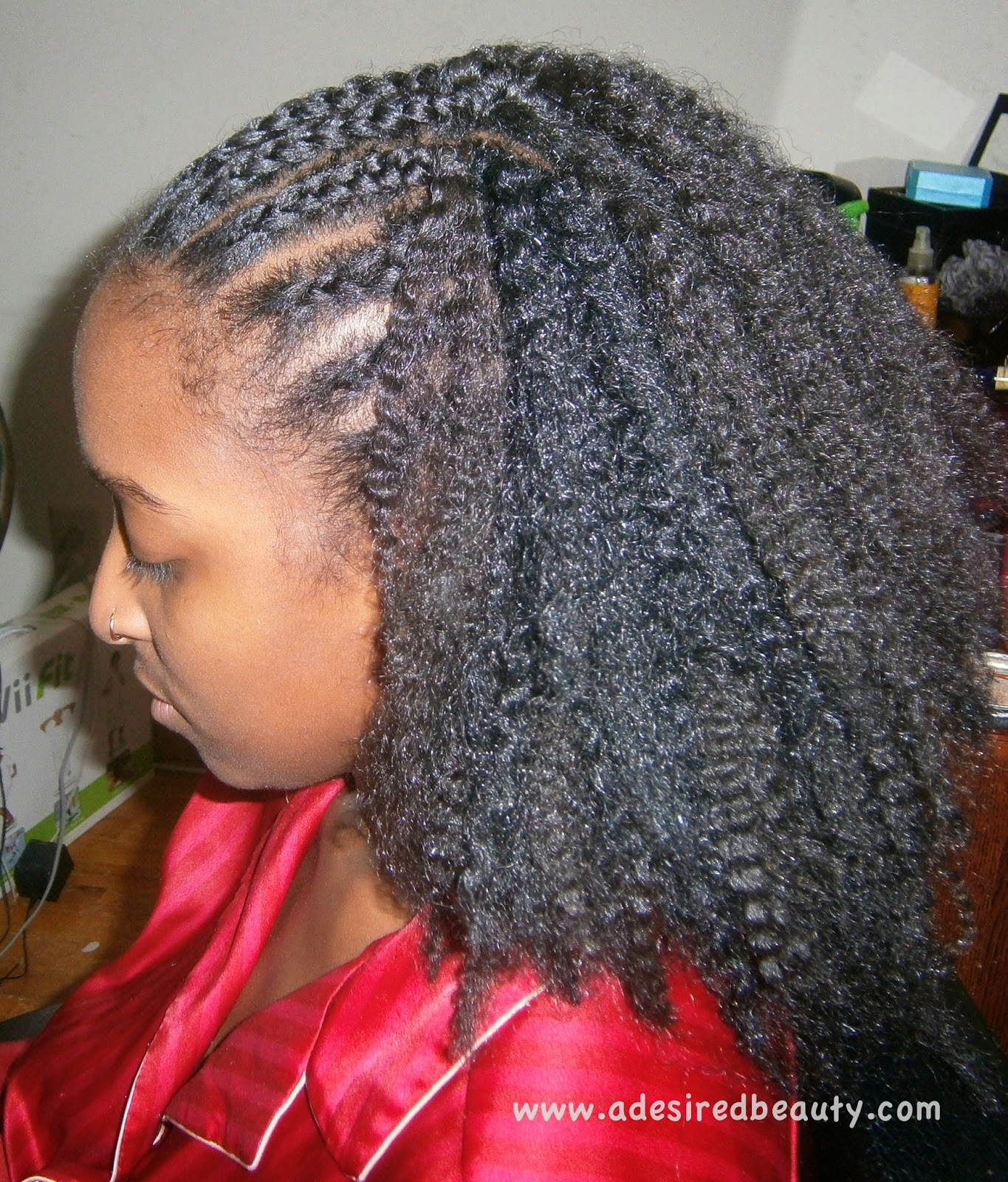 Crochet Braids Dallas : Installing My Sisters Crochet Braids {Inspiring My Own} A Desired ...