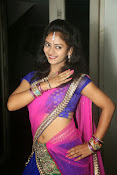 Young actress Jaya Harika in half saree-thumbnail-3