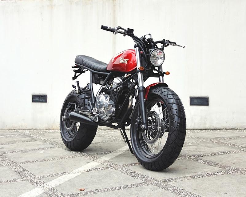 Home » Scorpio-Z » Modifikasi Yamaha Scorpio Z 08: STREET TRACKER title=