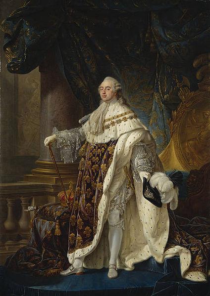 Retrato de Luis XVI Obra de Antoine-Francois Callet último rey de Francia