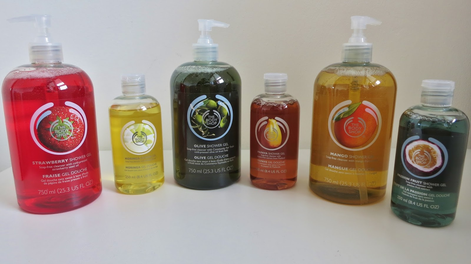 SALMAN DEAN: I\'m Addicted to The Body Shop Shower Gels