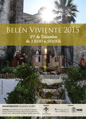 BELÉN VIVIENTE DE VEJER 2015 - CÁDIZ
