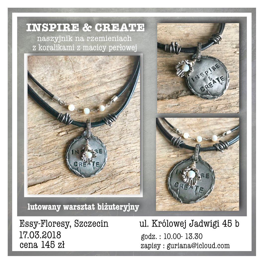 biżuteryjne warsztaty w Szczecinie Inspire & Create