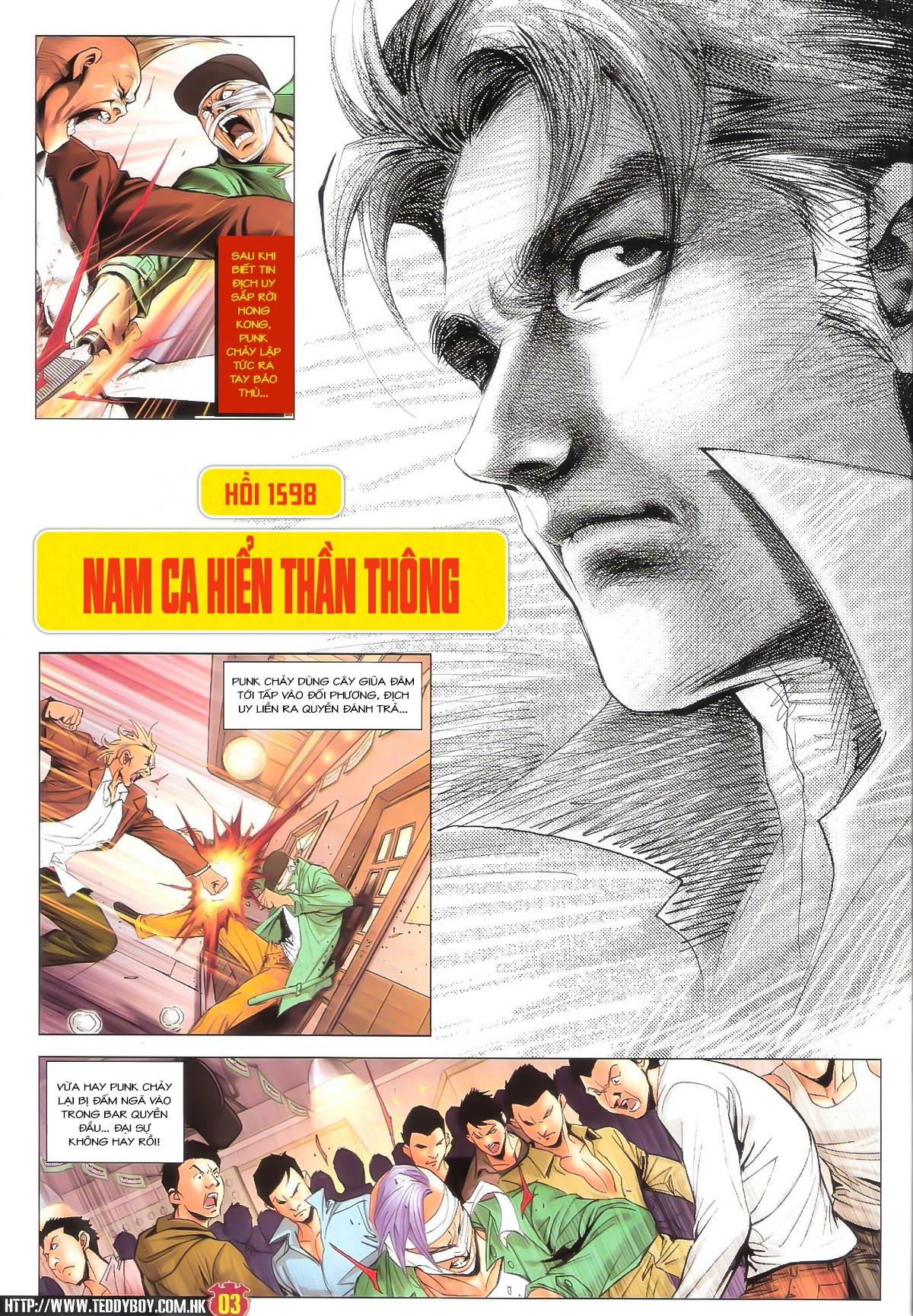 Người Trong Giang Hồ NetTruyen chap 1598 - Trang 2