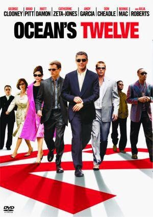 Ocean's Twelve (Released in 2004) - Successful sequel to con movie - Starring George Clooney, Brad Pitt, Matt Damon, Catherine Zeta-Jones, Andy García, Julia Roberts