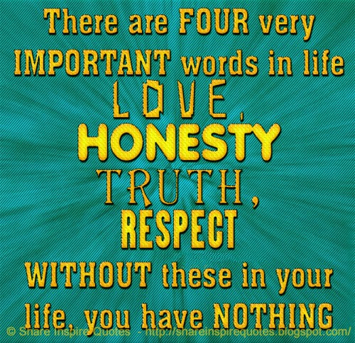 the importance of honesty in our daily lives Honesty is important in creating good relationships with people as well as achieving personal development typically, honesty entails avoiding lying to people or cheating and stealing fostering positive values is essential for leading a healthy life and helps to get rid of negative qualities.