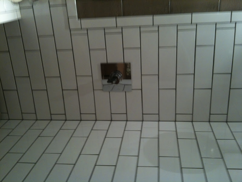 tile dark grout - will definitely use this in at least one bathroom title=