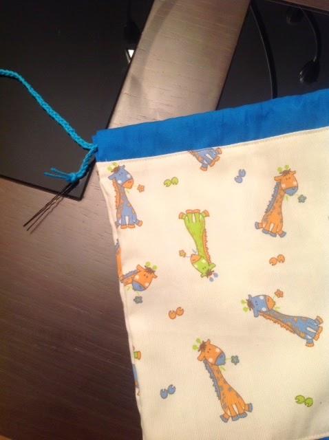DIY - Snack bag for school