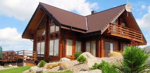 Casas modernas casas de madeira pequenas e modernas for Casas prefabricadas pequenas