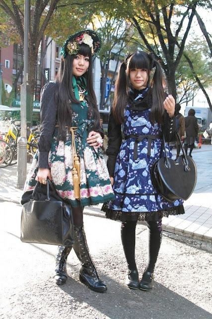 gorgeous rococo clothing