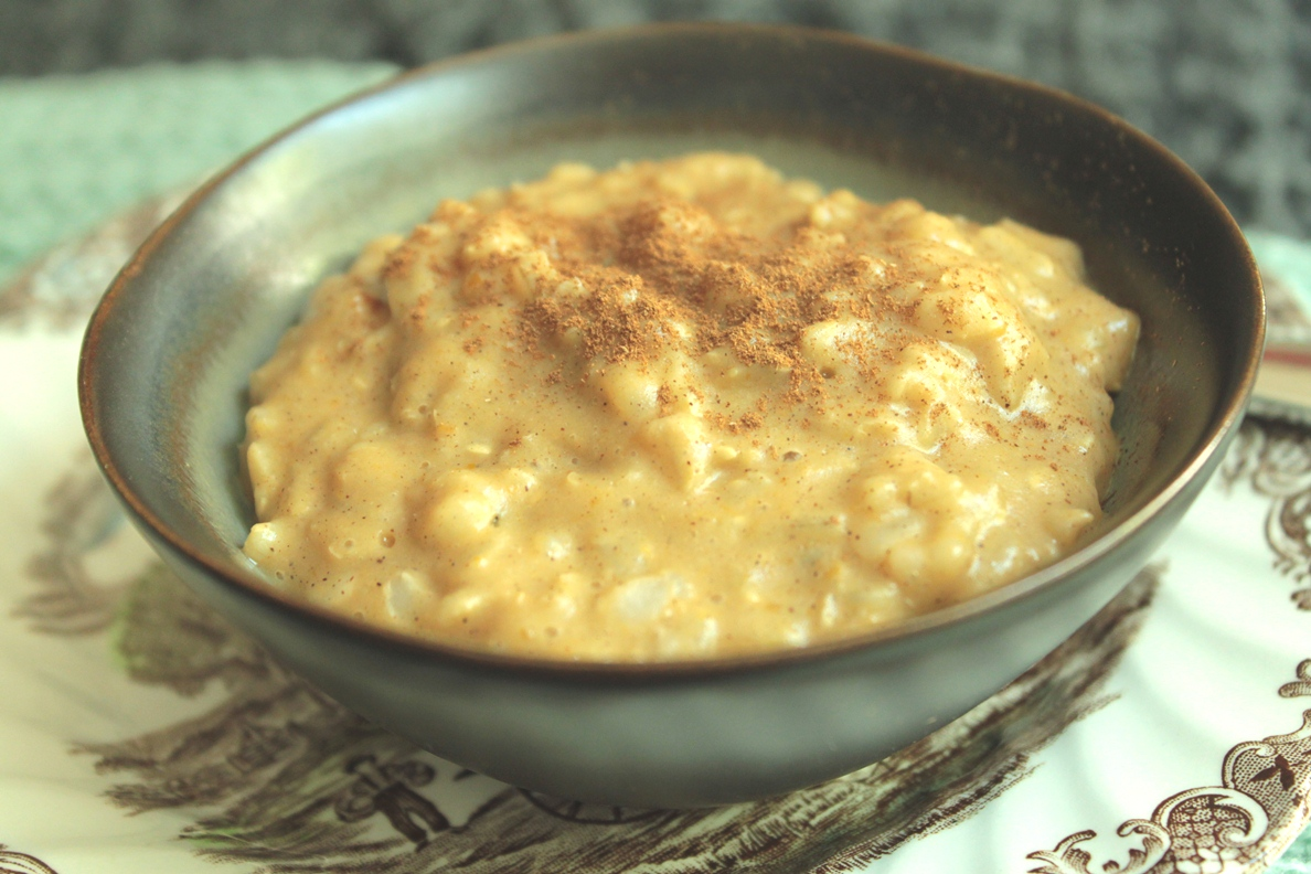 Kati Heifner: Pumpkin Rice Pudding