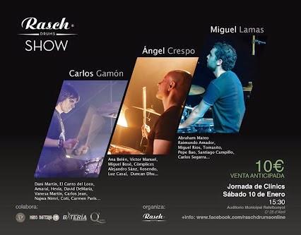 cartel rasch drum show