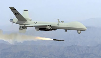 Pakistan Warns US Over Airspace, US then promptly murders 8 Pakistanis in drone attack preddrone1