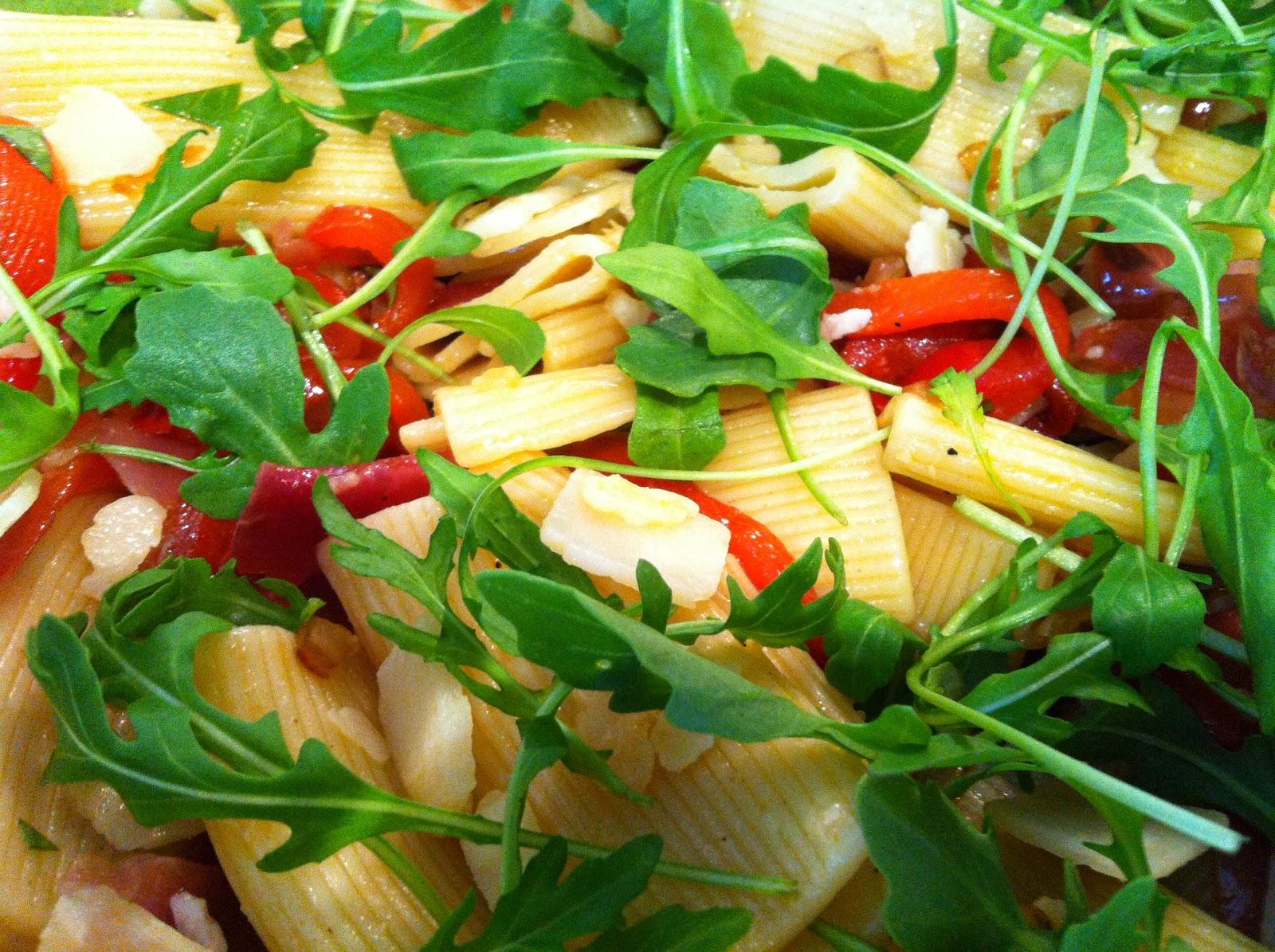 assiette de pates a l italienne
