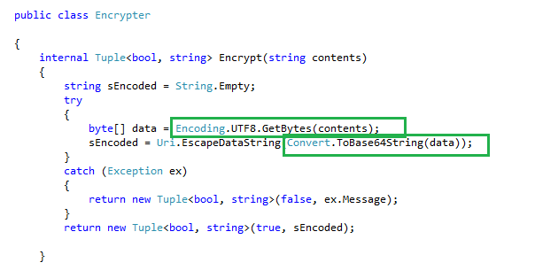 Query Strings Encryption