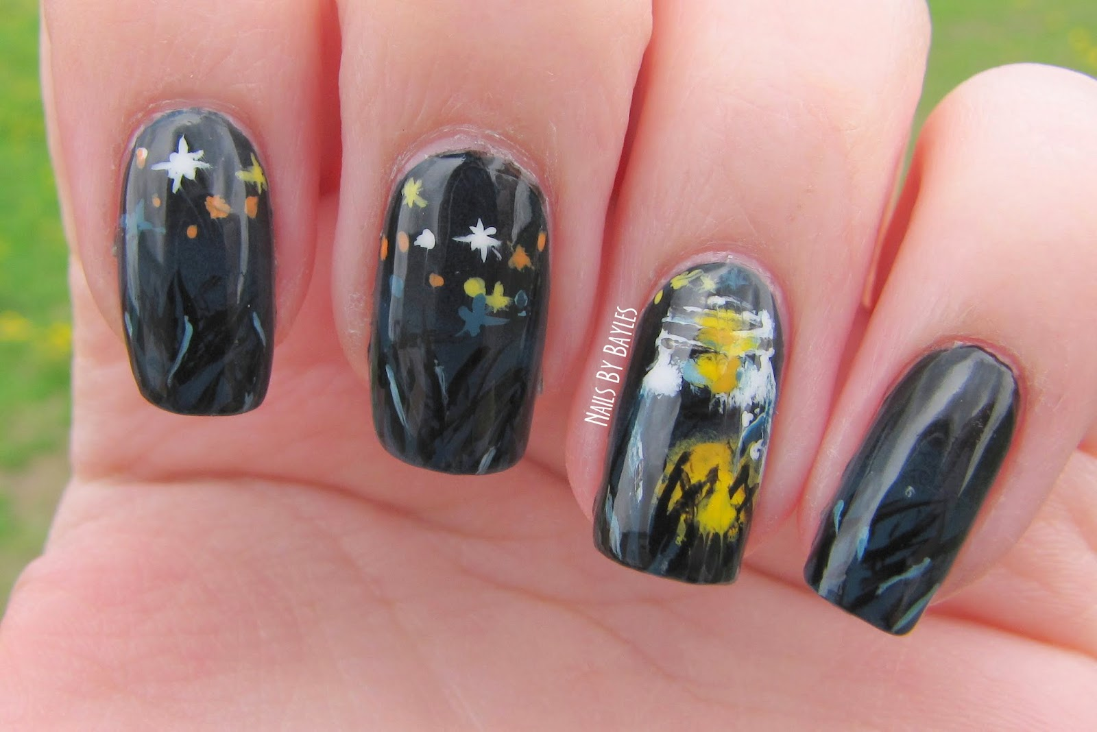 Firefly Nail Art