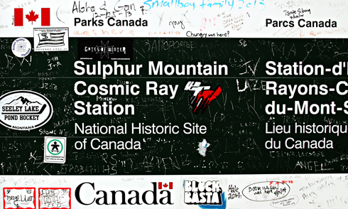sulphur mountain cosmic ray station alberta travel photography series