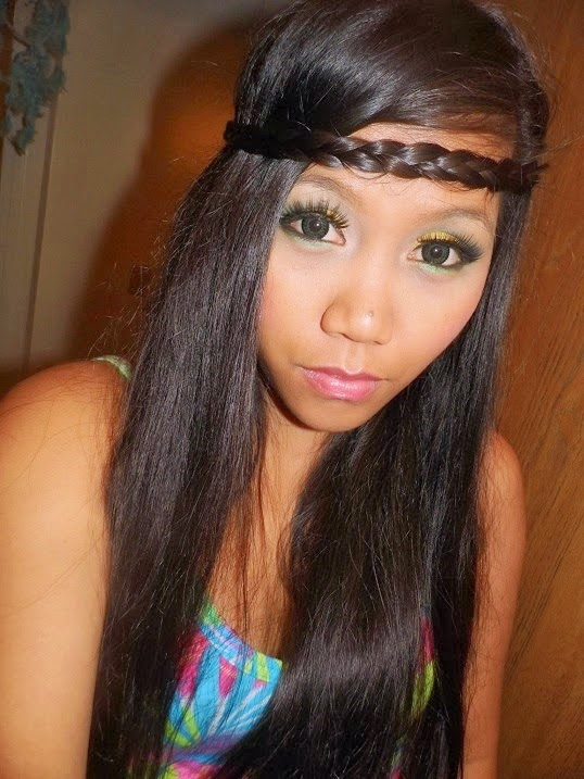Barbie Lace Green colored contacts