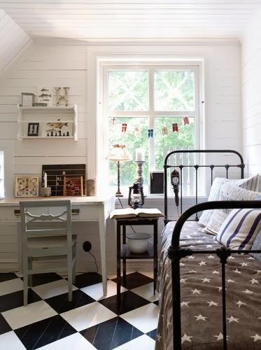 Decoraci n f cil dormitorio juvenil vintage - Dormitorio juvenil decoracion ...