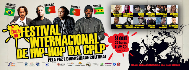 Meo Arena Recebe 2ª Edição do Festival Internacional de Hip Hop da CPLP