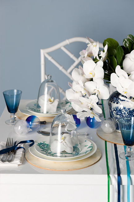 Chinoiserie Chic Setting The Chinoiserie Table More