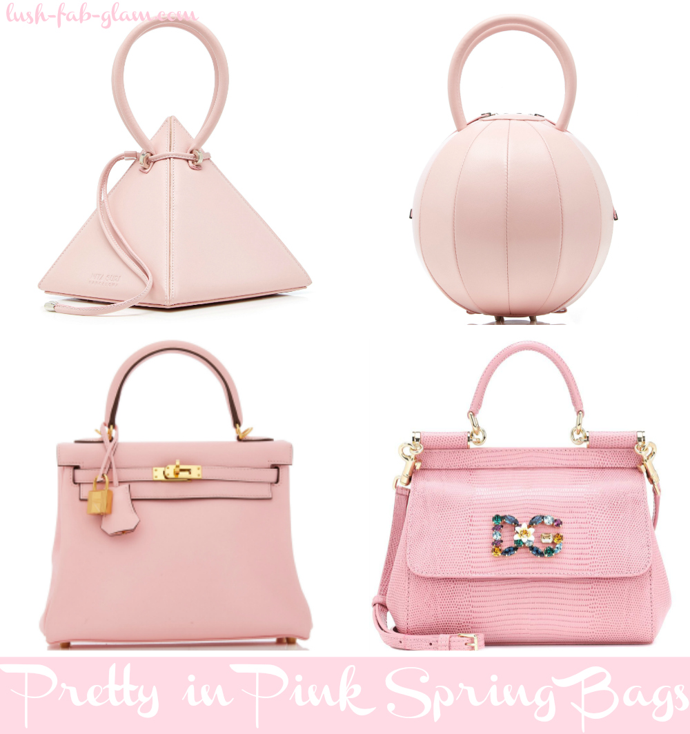 Spring Is Officially Here & These Pretty in Pink Bags are sure to glam up your spring style!