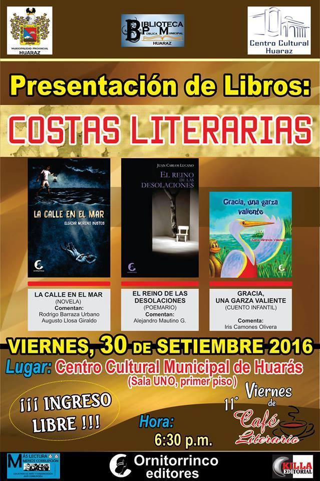 RECUERDO LITERARIO DE HUARAZ