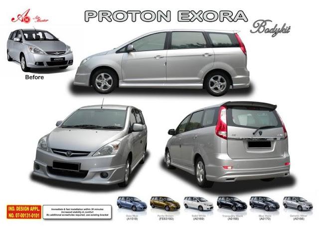 mobil Proton Exora VS Toyota Innova, Avanza, Honda Freed, Nissan Grand ...