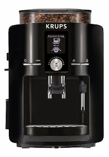 KRUPS EA8250001 Espresseria Fully Automatic Espresso Machine with Built in Conical Burr Grinder Black Best LCD Clean Professional Coffee Grinder Under 1000 Krups Coffee And Espresso Maker Krups Espresseria Coffee Maker Automatic Espresso Machine Burr Grinder Black