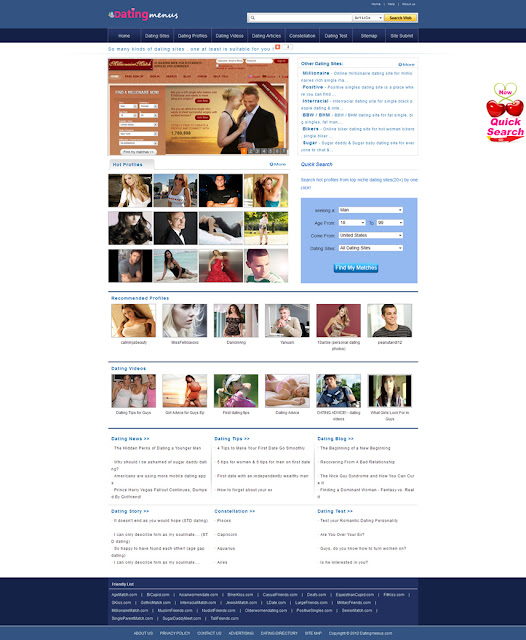 Datingmenus.com | Free Online Dating Sites For Singles & Chat