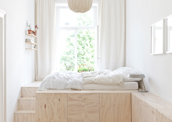 The home of designer duo, Studio Oink, in Wiesbaden, Germany