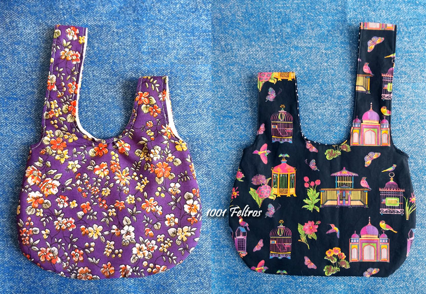Bolsa De Mão De Tecido Como Fazer : Feltros bolsas de tecido e caveiras feltro